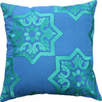 21144C Tangier - Blue/Emerald
