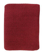 21363T Milford Moss Stitch - Chilli/Red