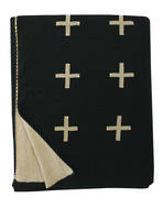 21179T Crosses - Black/Fawn