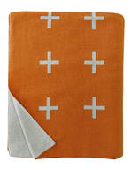 21185T Crosses - Orange Rust/Grey