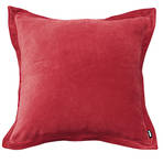 22054C Colonial Velvet Euro Cushion - Ruby