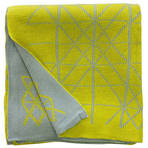 22446T Moda Argyle - Citrus/Grey