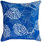 22662C Palm Leaves - Classic Blue