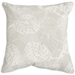 22665C Palm Leaves - Taupe
