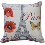 22868C Paris - Red Multi