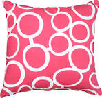 23000C Metro Linked Circles - Pink/White