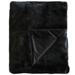 3171T Rabbit Fur - Dyed Black