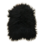 3332H Icelandic Sheepskin - Long Haired Warm Black