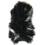 3375H Icelandic Sheepskin - Long Haired Dark Spotted