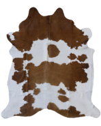 5030-2344 Brown-White Cowhide