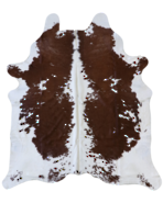 5030-2345 Brown-White Cowhide
