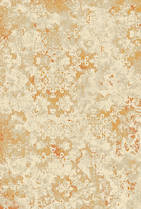 72060  Jardin Plush - Baroque - Orange/Cream