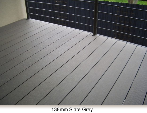 beautiful gray decking
