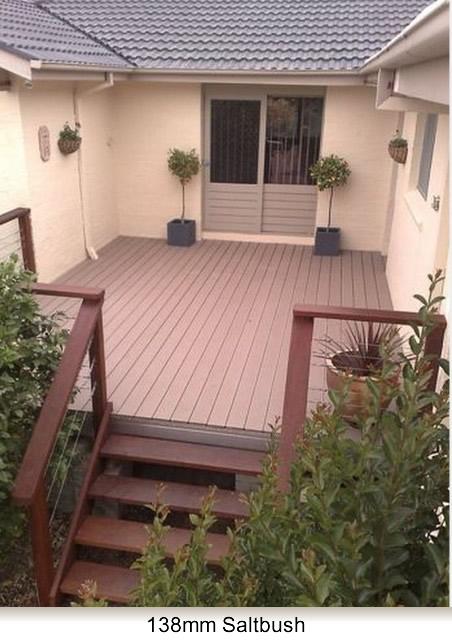 lovely wood deck