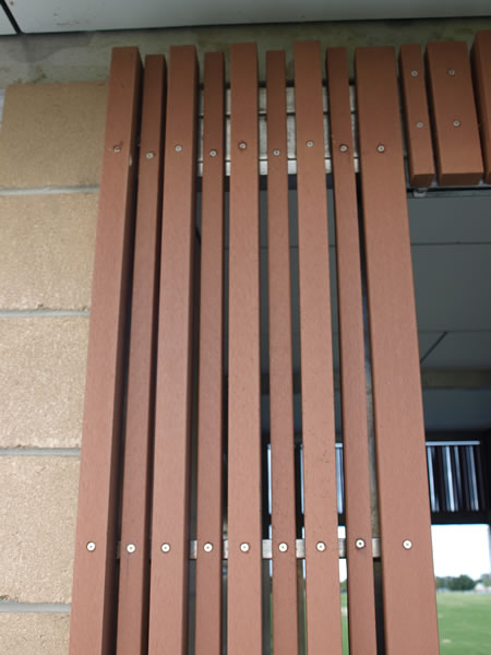 wallboard cladding outdoor