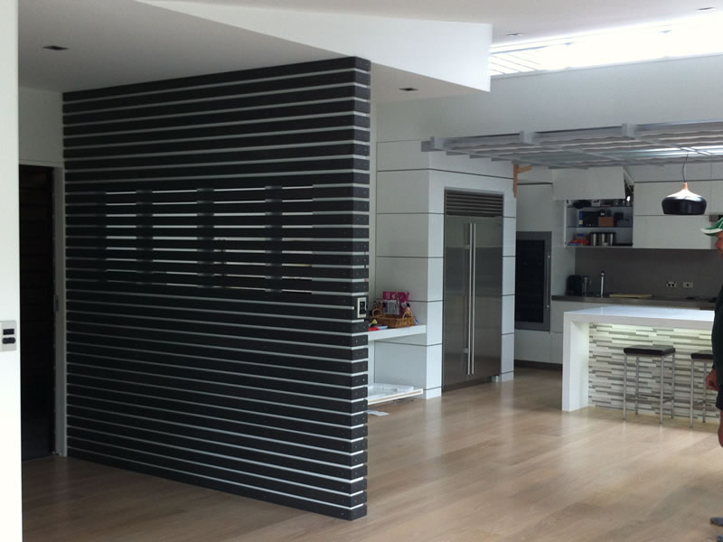 interior cladding black