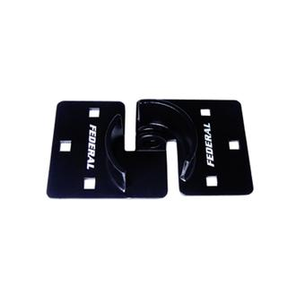 Heavy Duty High Security Shrouded Hasp - Square