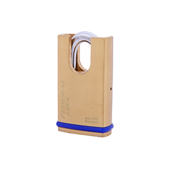 Solid Brass Padlock - Protected