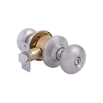 Olympus Knobset Privacy Latch Satin Stainless Steel