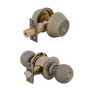 Bala Entrance Lock with Double Cylinder Deadbolt Keyed Alike