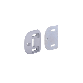 Panic Exit Device Bottom Strike Plate 5711 - Silver