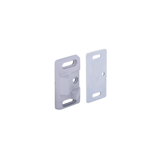 Panic Exit Device Top Strike Plate 5711 - Silver