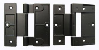 Hinge - Fairview 90mm Alu & Tim Door Blk