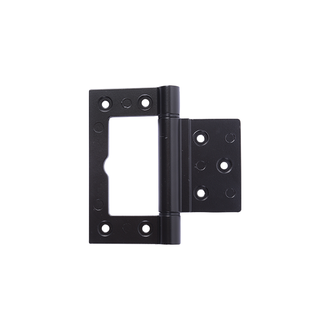 100mm Timber or Aluminium Door Hinge Black