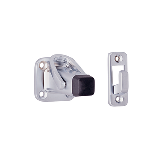 Doorstop Square Latching Wall Mount