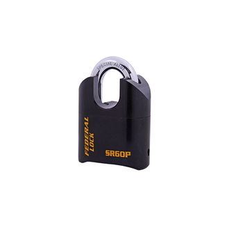 Heavy Duty Solid Steel Resettable Combination Padlock - Protected