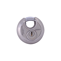Non-Rekeyable Shielded Shackle Disc Padlock