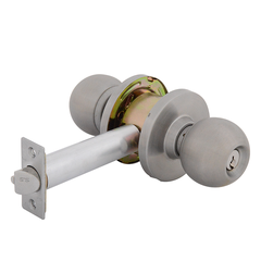 Double Key Bala Entrance Lock Knobset