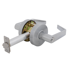 Empire Leverset Entrance Lock Satin Chrome