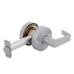 Empire Leverset Exit Lock Satin Chrome