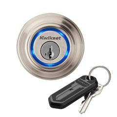 Kevo Bluetooth Deadbolt Satin Nickel