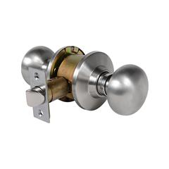 Olympus Knobset Passage Latch Satin Stainless Steel