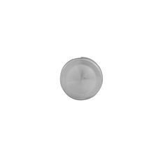Screw cover cap for gripset Satin Chrome