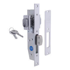 Commercial Short Bolt Mortice Lock - Double Cylinder
