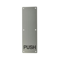 Push Plate (Push & No Handle )