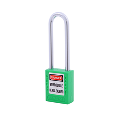 Safety Plastic Padlock 76mm Shackle