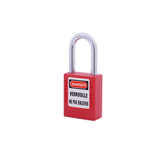 Safety Plastic Padlock 38mm Shackle