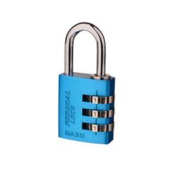 Resettable Aluminium Combination Padlock RA30