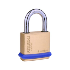 Non-Rekeyable Solid Brass Padlocks R82 with Shackle Seal