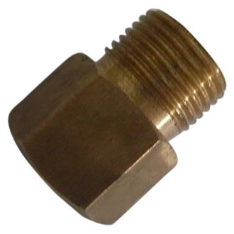 "Companion to 1/4"" F Adaptor"