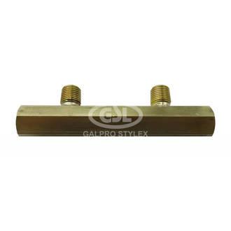 2 Way Brass Manifold