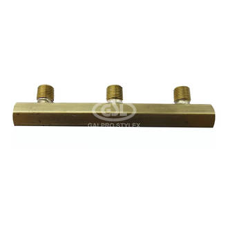 3 Way Brass Manifold