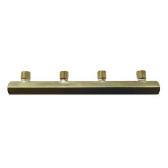 4 Way Brass Manifold