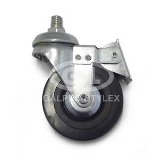 Castor Wheel (74mm x 20mm) with brake