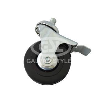 Castor Wheel with brake (75mm x 20mm)