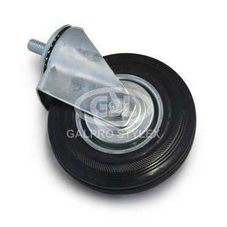Castor wheel without brake (124mm x 34mm)